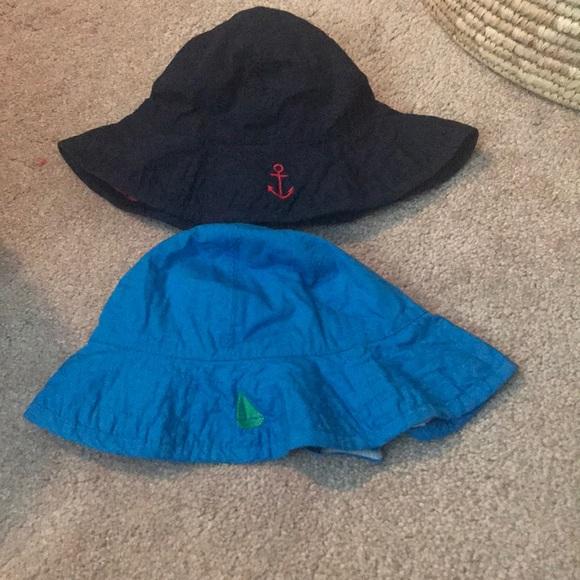 Pottery barn infant boy swim hat